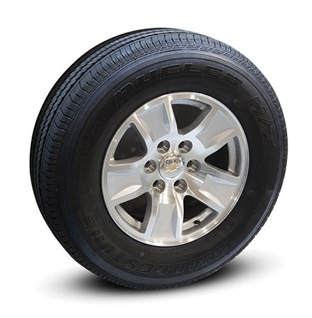 Late Model GM Full-Size Truck/SUV Wheels and Tires