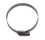 "Worm Drive Clamp Stainless Steel 5/16"" Band Width 7/32"" to 5/8"" Diameter (5.5-16mm)"