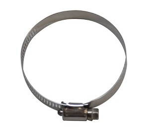 "Worm Drive Clamp Stainless Steel .5"" Band Width 3-9/16"" to 4.5"" Diameter (91-114mm)"